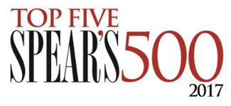 Image of top five Spear's 500 logo.